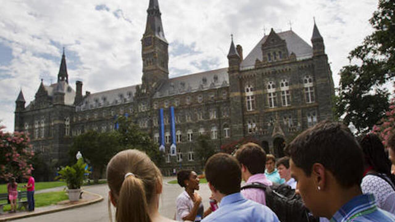 Georgetown to give slave descendants priority for admission
