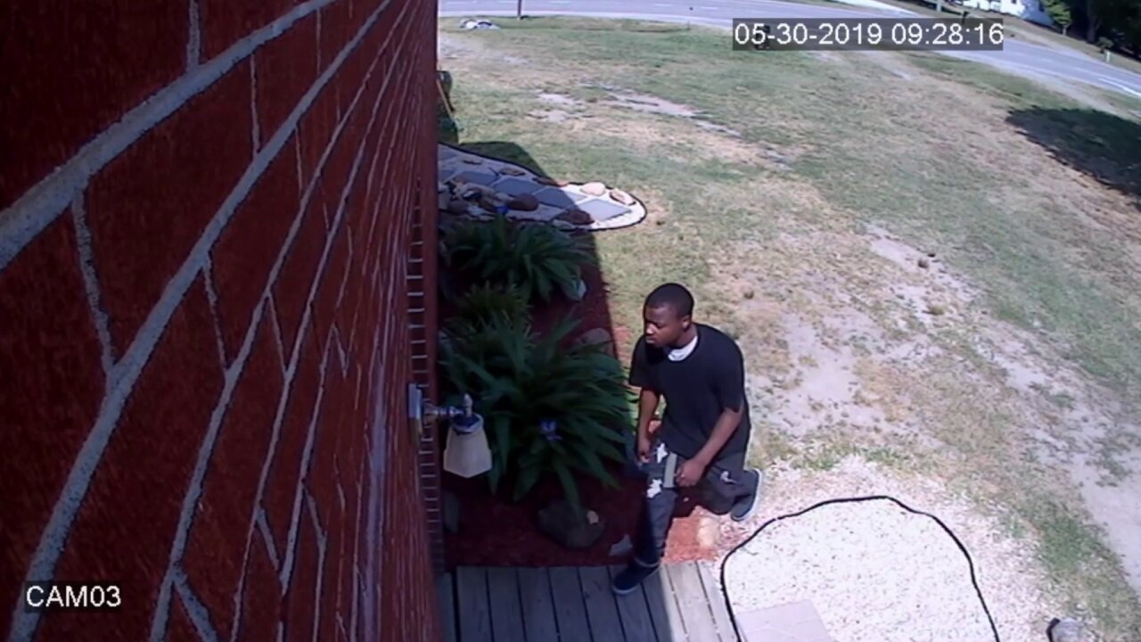 Police looking for Yorktown home breakinsuspect