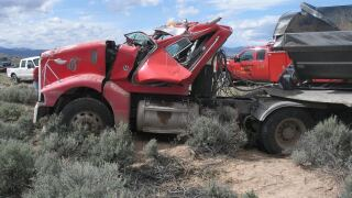 Man killed after truck rolls in southern Utah