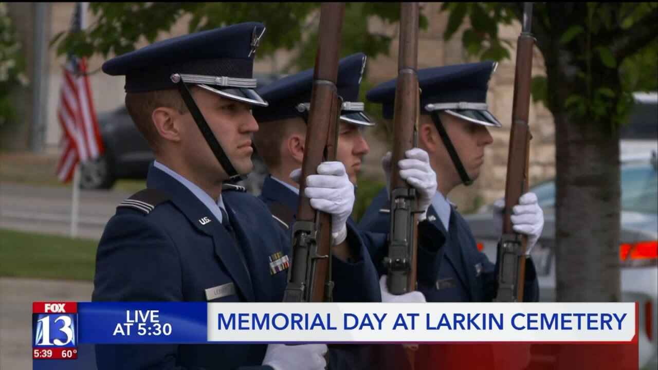 Cemetery continues 20 year Memorial Day tradition