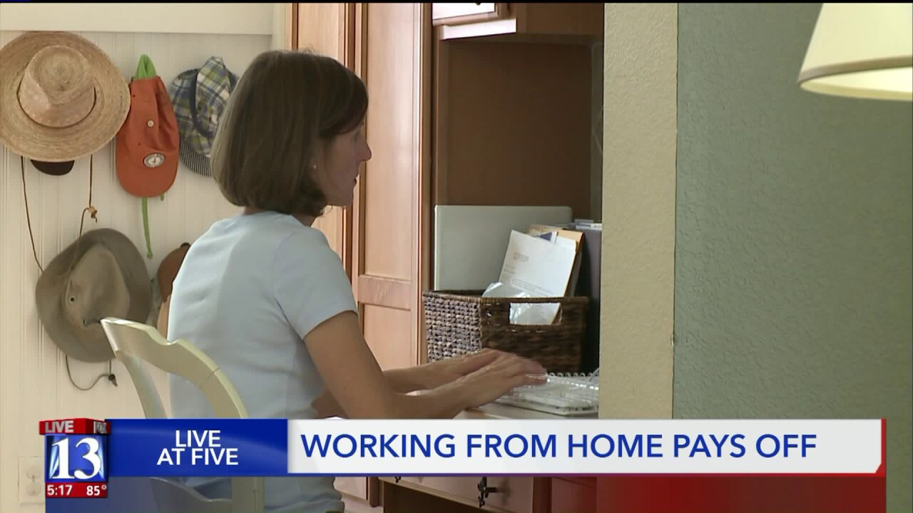 Working from home pays off, state telecommuting experiment results show