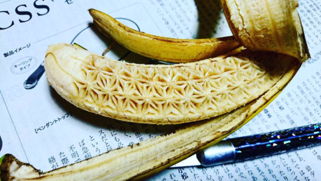 WEIRD! Artist who carves food makes Internet mad