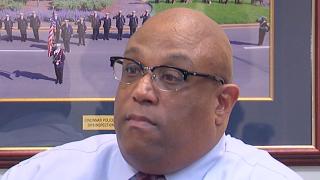 Cincinnati Police Chief Eliot Isaac