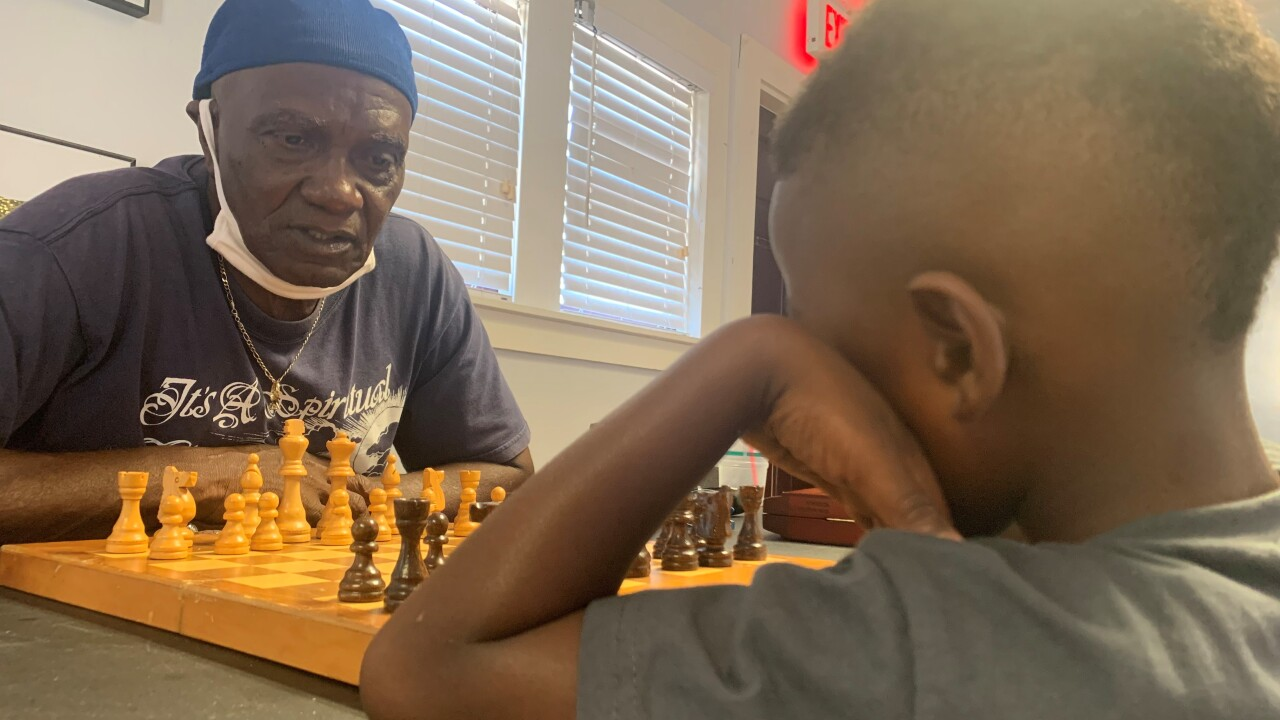 A Delray Beach man enjoys spreading his love of chess to the next generation.