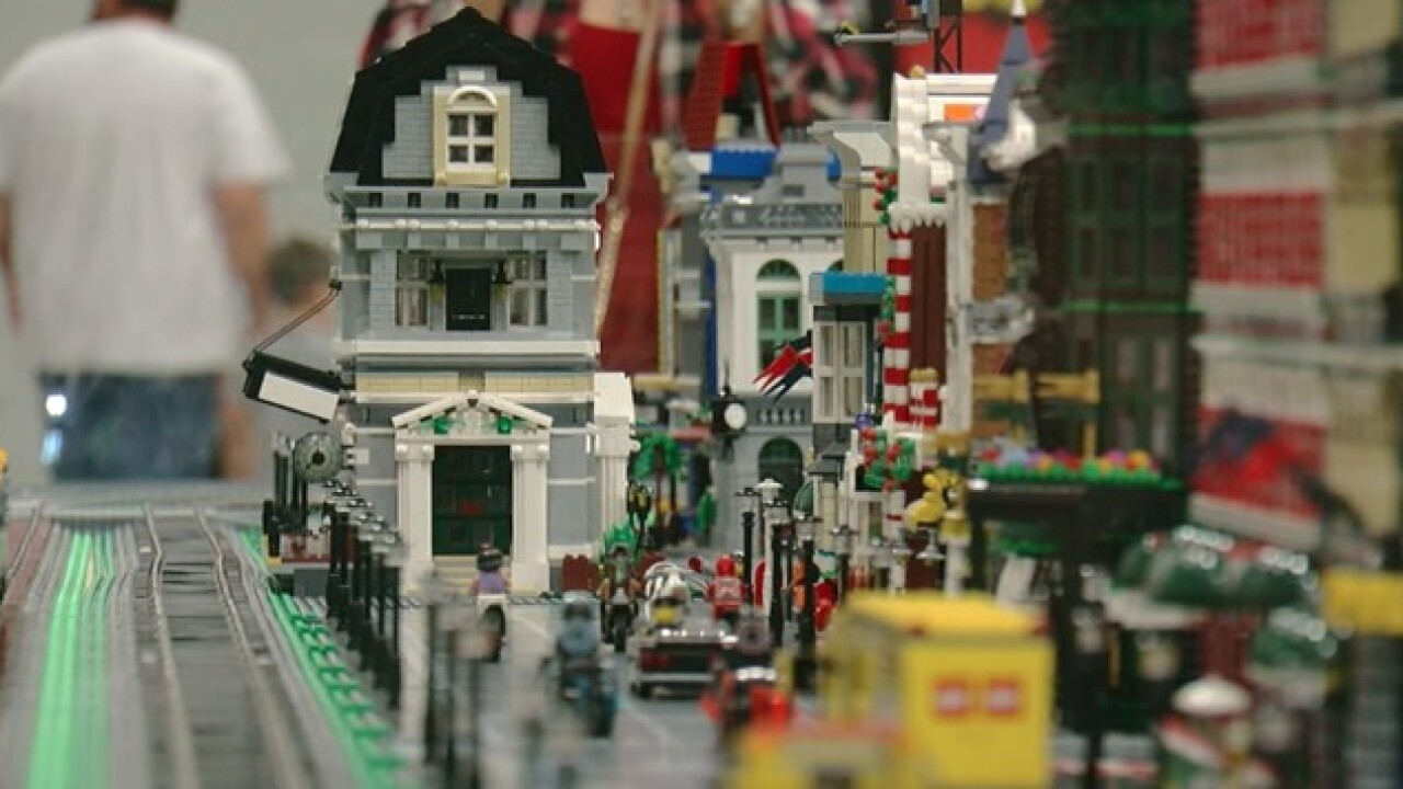 "The annual ""Brick-Universe"" event is here in Tulsa"