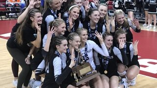 Nebraska State Volleyball: Omaha Skutt becomes first team to win four straight Class B state titles
