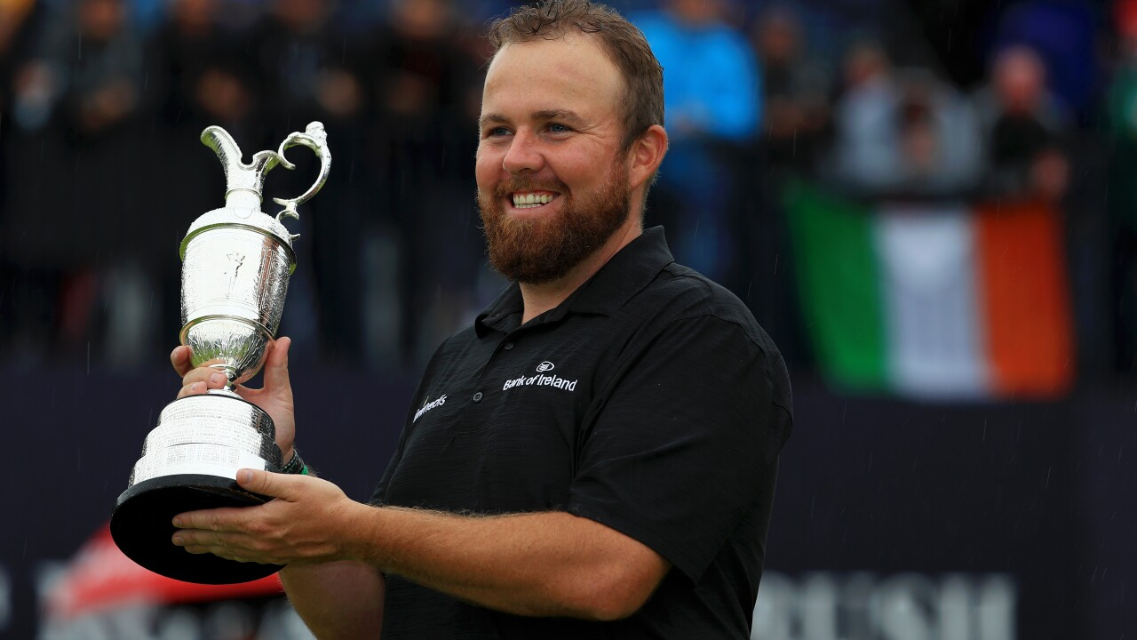Ireland's Shane Lowry wins Open Championship in golf tournament's return to Northern Ireland