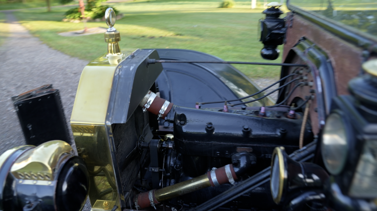 The engine of the Model T