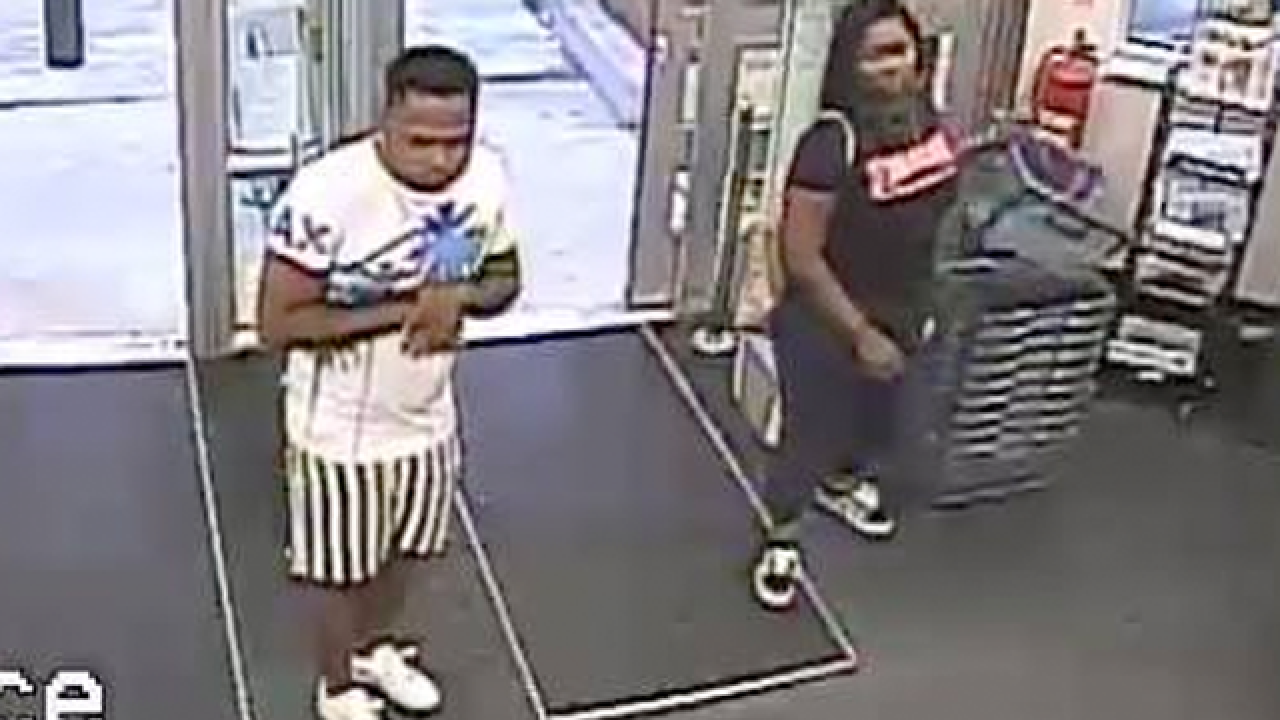 Shoplifting suspects sought by Martin Co. SO