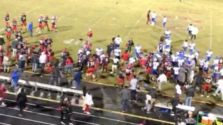 Schools banned from playoffs for brawl