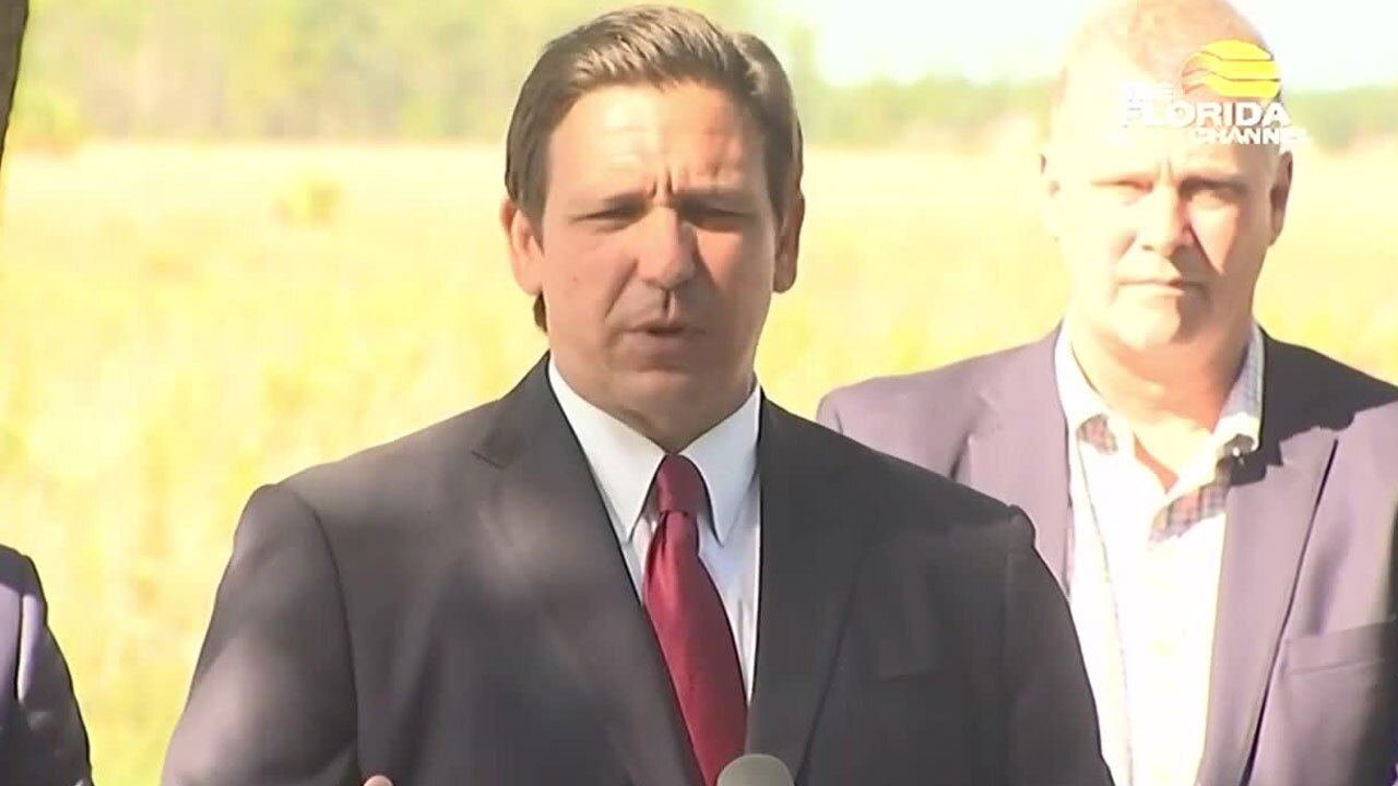 Gov. Ron DeSantis speaks about the Delta variant, rise in COVID casese on July 19, 2021