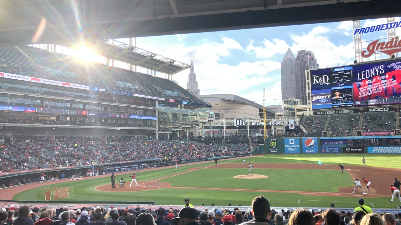 Cleveland Indians Home Opener 2020.Indians Release 2020 Schedule
