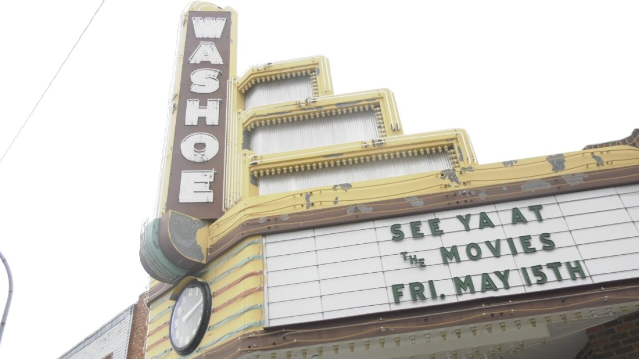 Anaconda's historic Washoe theater to reopen
