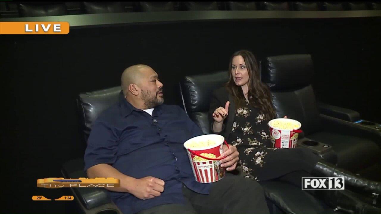 A look inside the brand new Cinemark Theater in SpanishFork