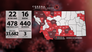 No new COVID-19 cases in Montana (Monday, May 25)
