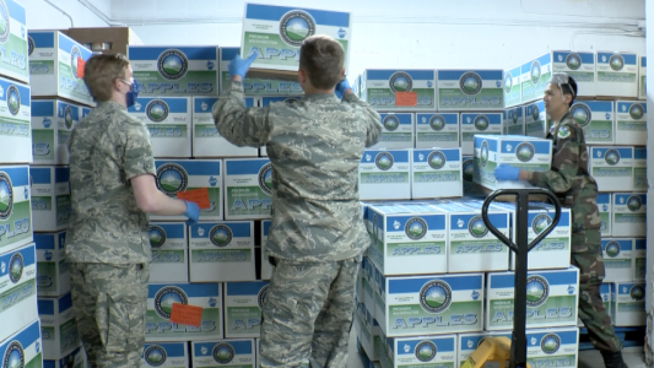 Flathead Food bank gets extra help from the Civil Air Patrol
