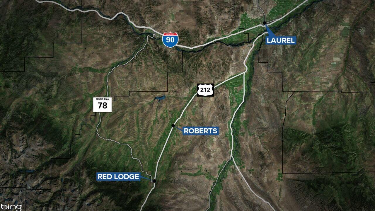 roberts laurel red lodge map