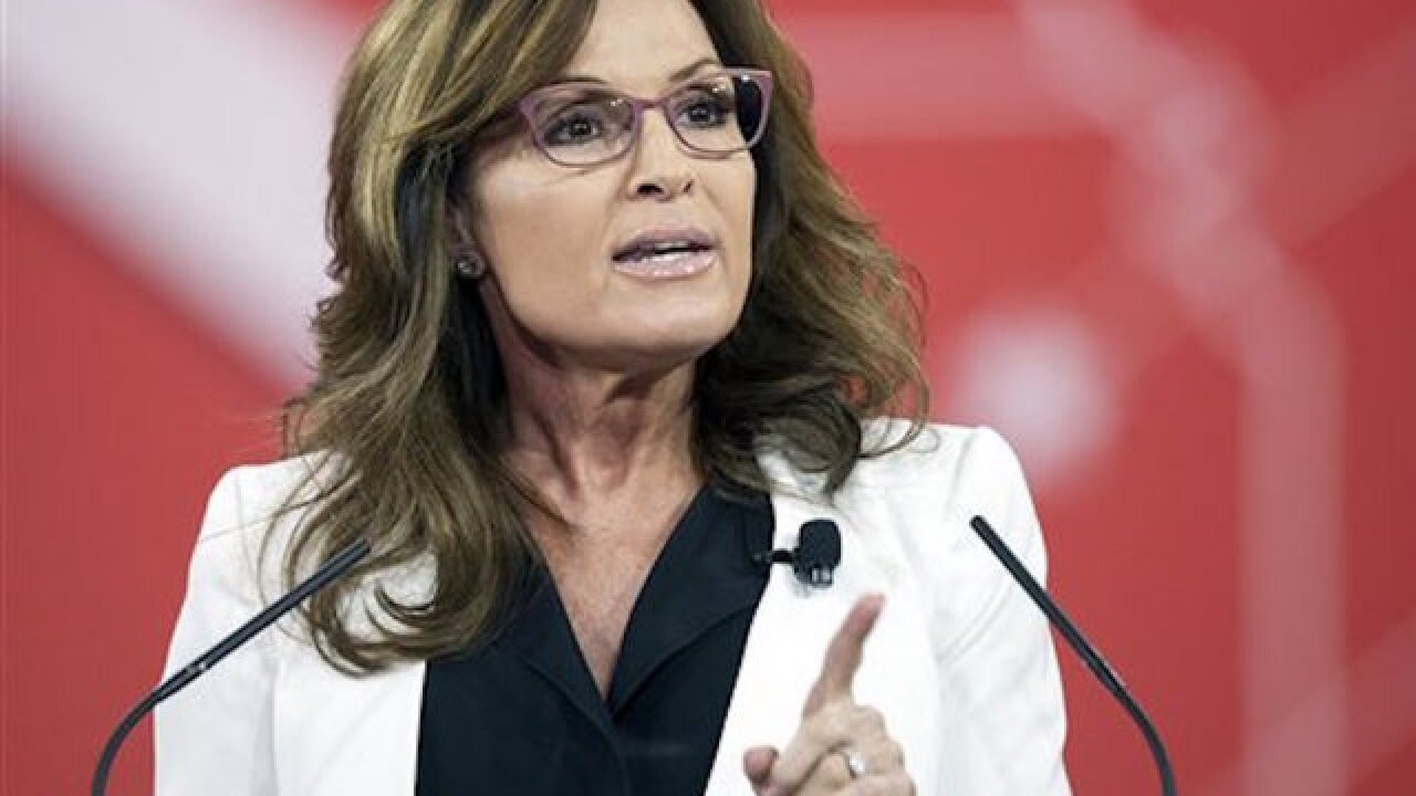 Palin sets sights on courtroom TV show