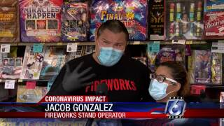 Fireworks vendors wearing PPE, facemask, gloves.jpg