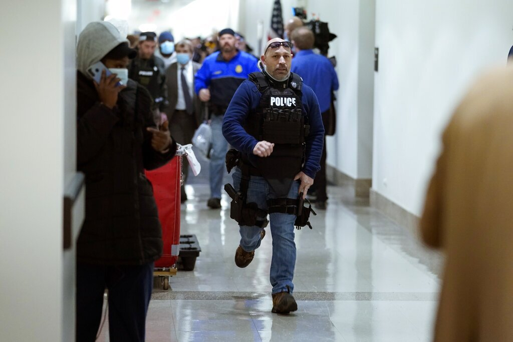 PHOTOS: Protesters breach U.S. Capitol in Washington, D.C.