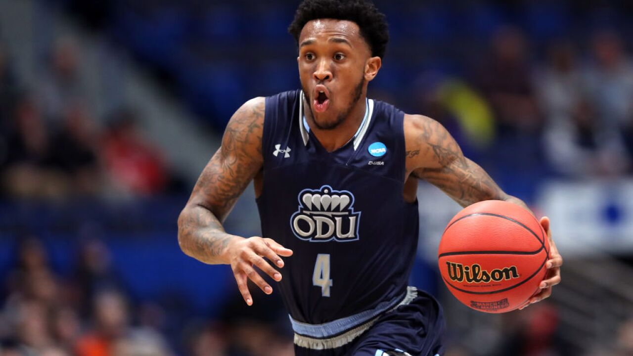 Former ODU basketball player Ahmad Caver signs with Memphis Grizzlies