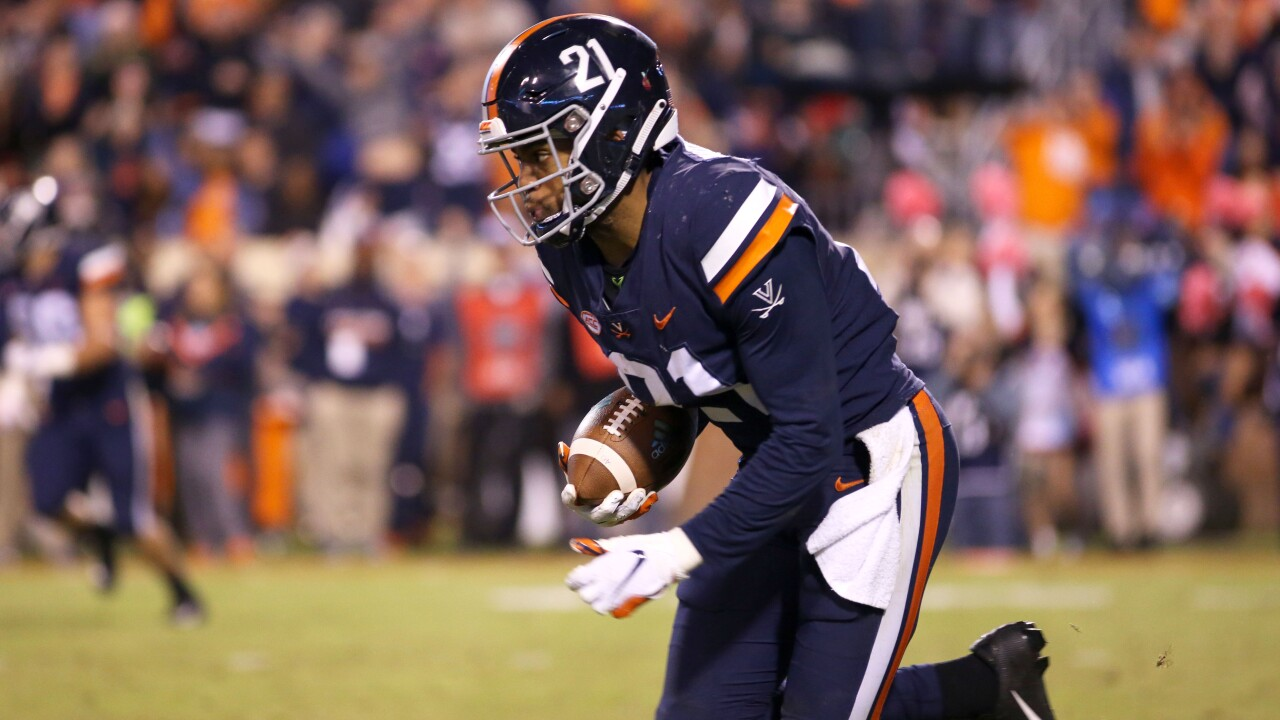 Juan moving on to next level: UVA's Juan Thornhill selected by Kansas City in NFL Draft