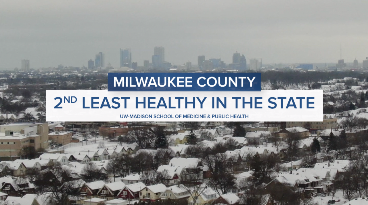 Milwaukee County 2nd least healthy in state