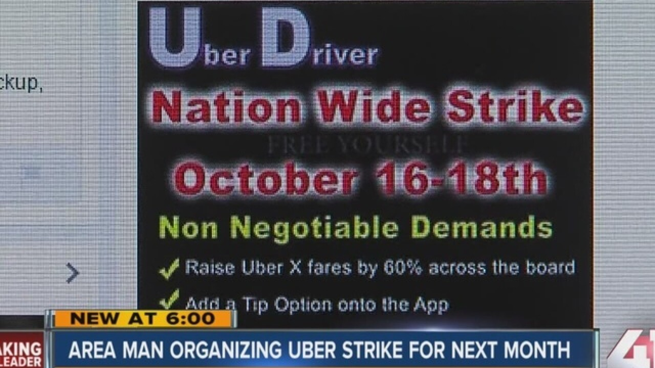 What's the legality of the planned Uber strike?