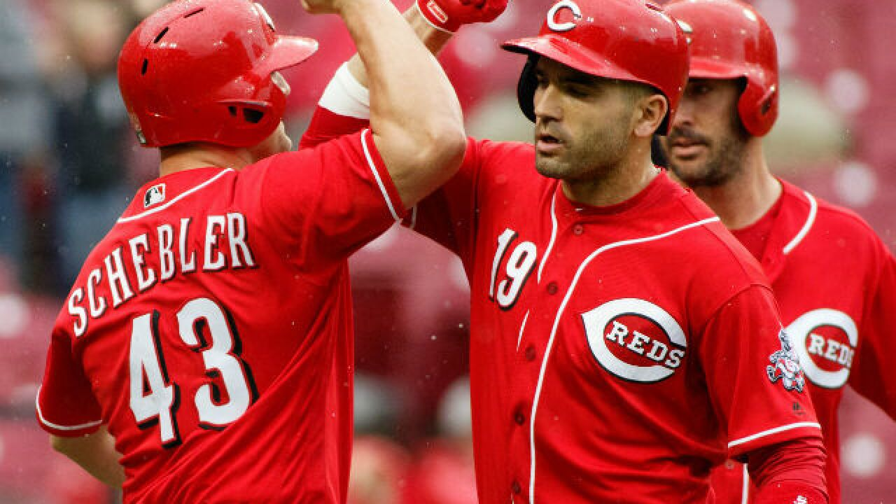 Joey Votto ends two-month home run drought with grand slam