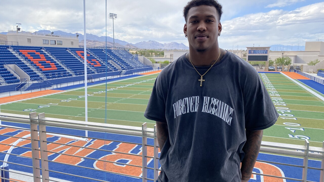 Former Bishop Gorman star tight end Brevin Jordan awaits his moment in the NFL Draft