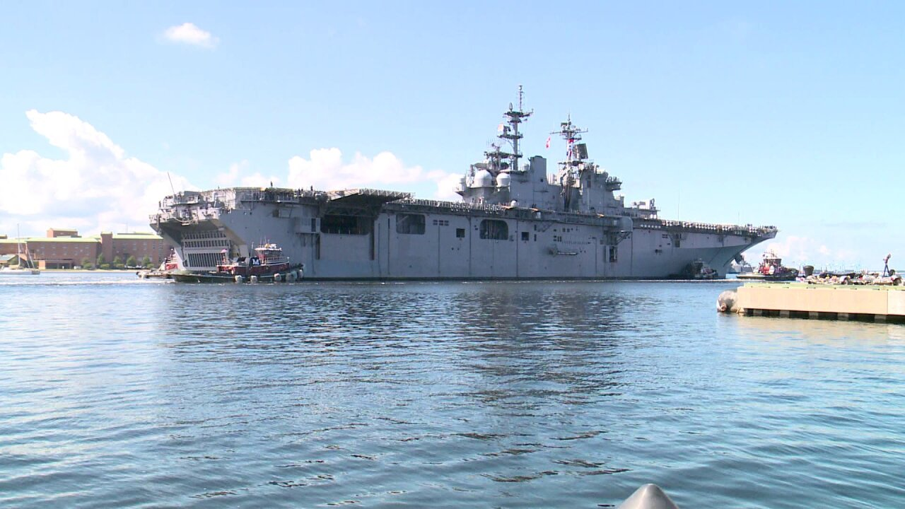 Forward-deployment of USS Wasp to Japan could cost Hampton Roads $200million
