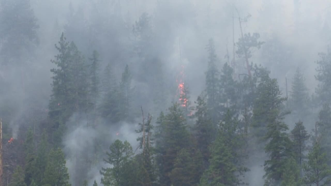 Magpie Rock Fire