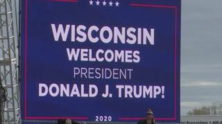 Northeast Wisconsin watched as President Donald Trump put his agenda into action