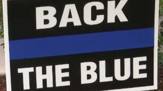 FL HOA asks resident to remove pro-police sign