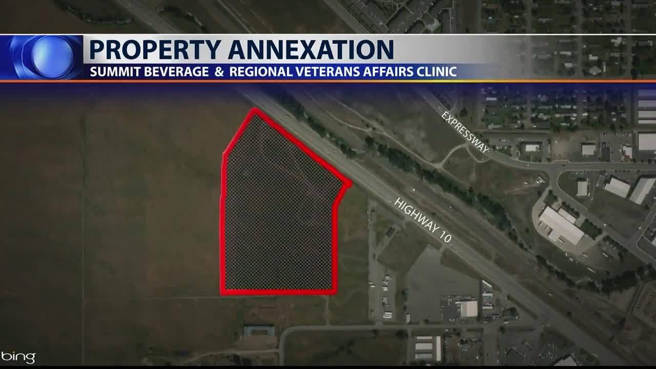 West Broadway Land Annexation Map