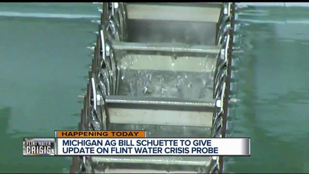 Update expected today on Flint investigation