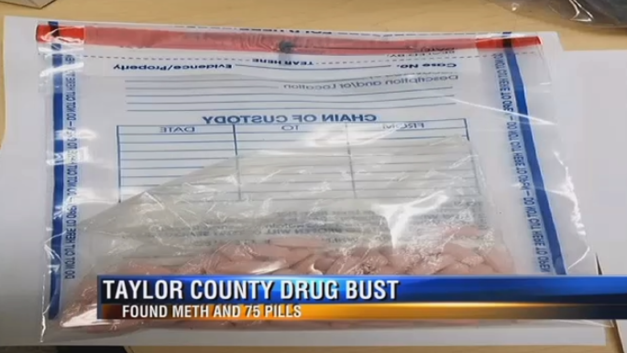 Two busted with meth, pills in Franklin Co.