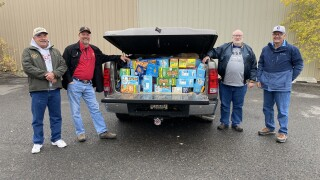 Knights of Columbus donates over 600 pounds of food to Helena Food Share