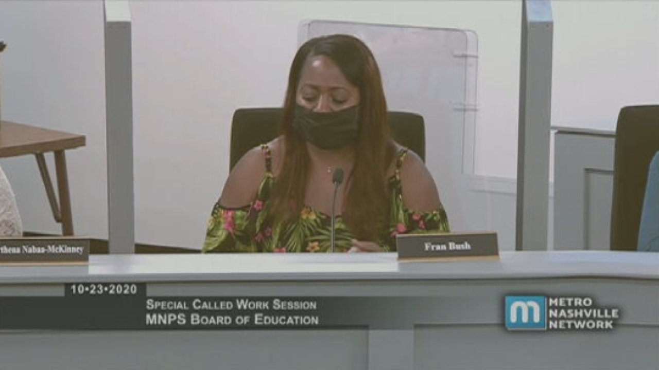 MNPS board member Fran Bush