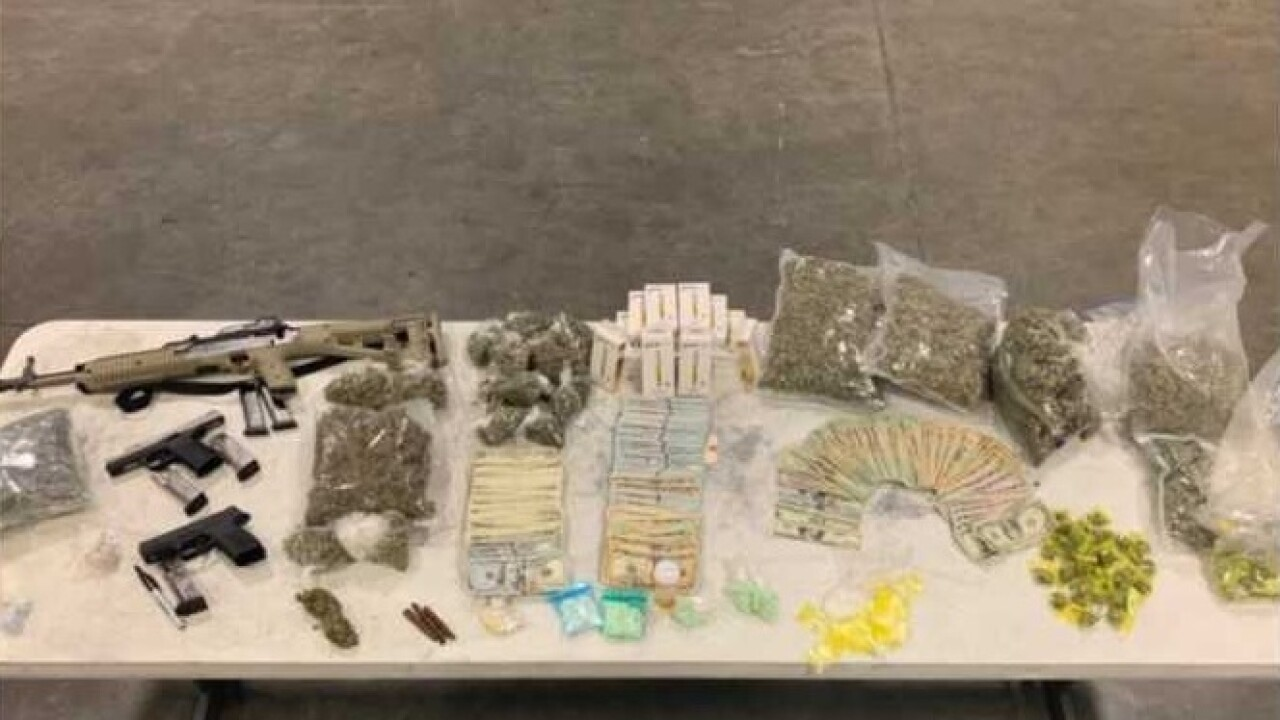 Seven Charged After Drugs And Guns Found In Pine Manor