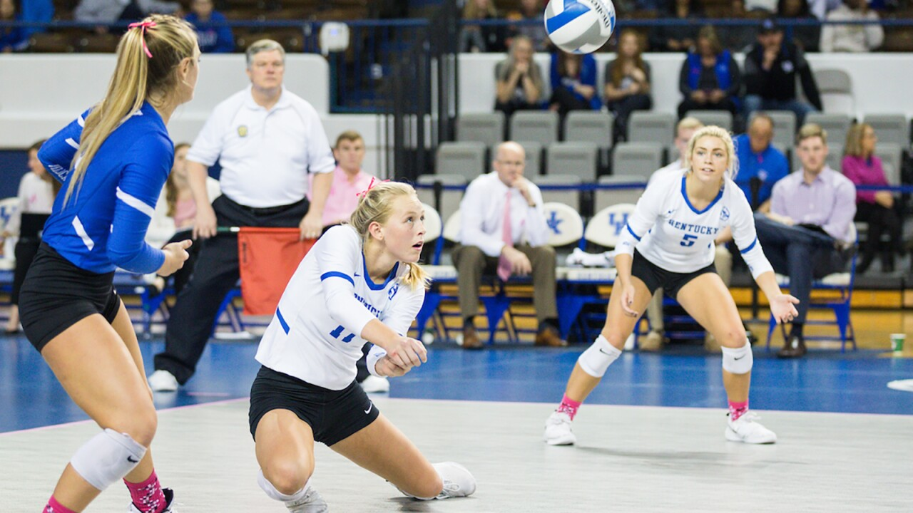 Kentucky Volleyball Releases 2019 SEC Schedule
