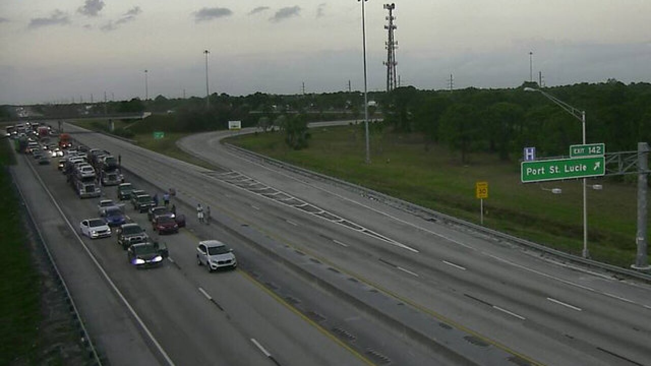 Florida Turnpike reopened in Port St  Lucie after police