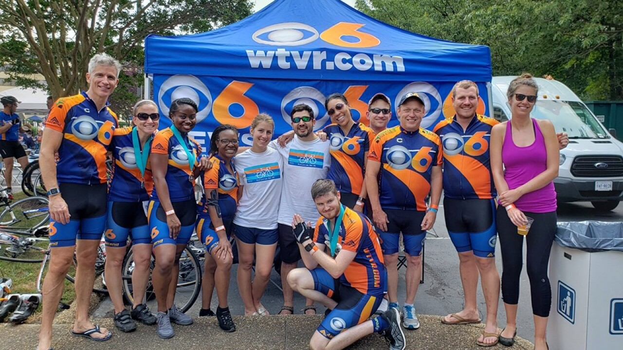 'Committed superstars' raise nearly $640,000 in Bike MS: Colonial Crossroads ride