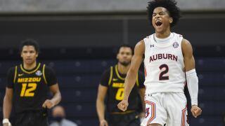 Missouri Auburn Basketball