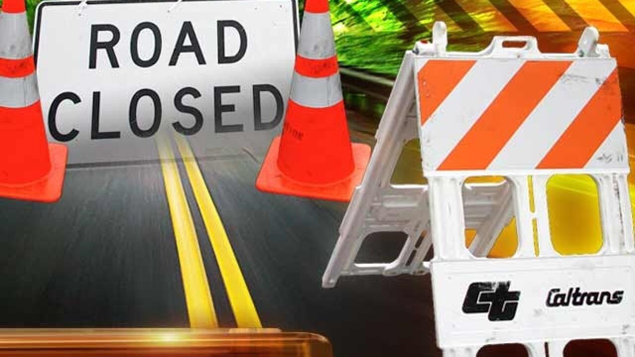 TRAFFIC: Lane closure on Columbus Drive