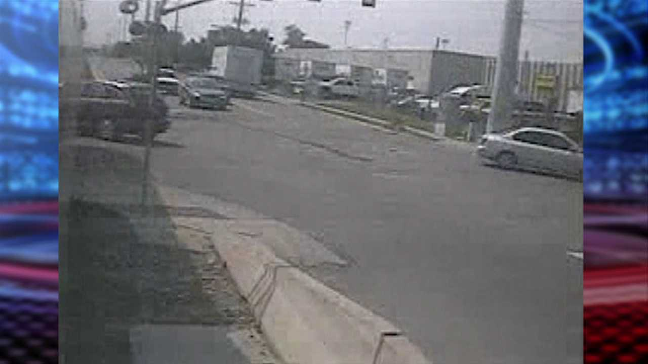 Surveillance video of fatal TRAX accident released