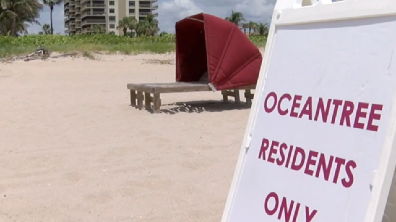 Beach access law causes confusion in Riviera Beach