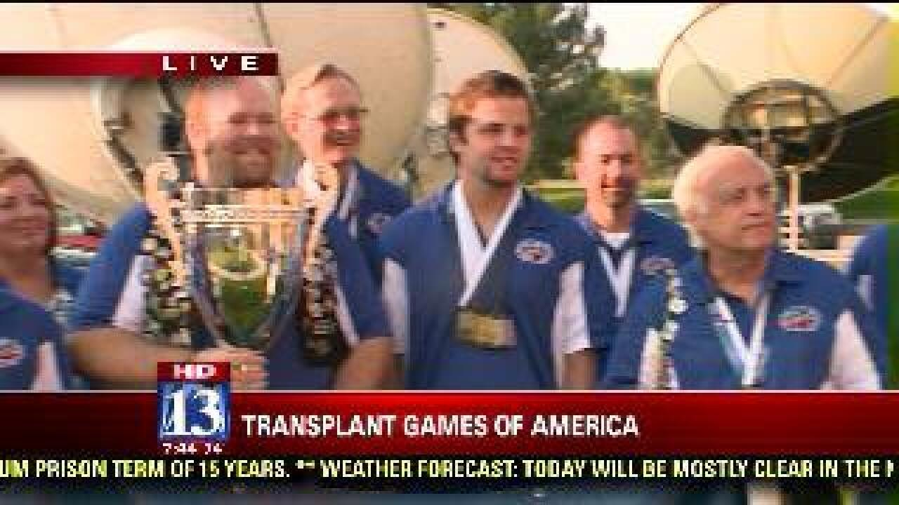Transplant recipients complete in Olympic-style event