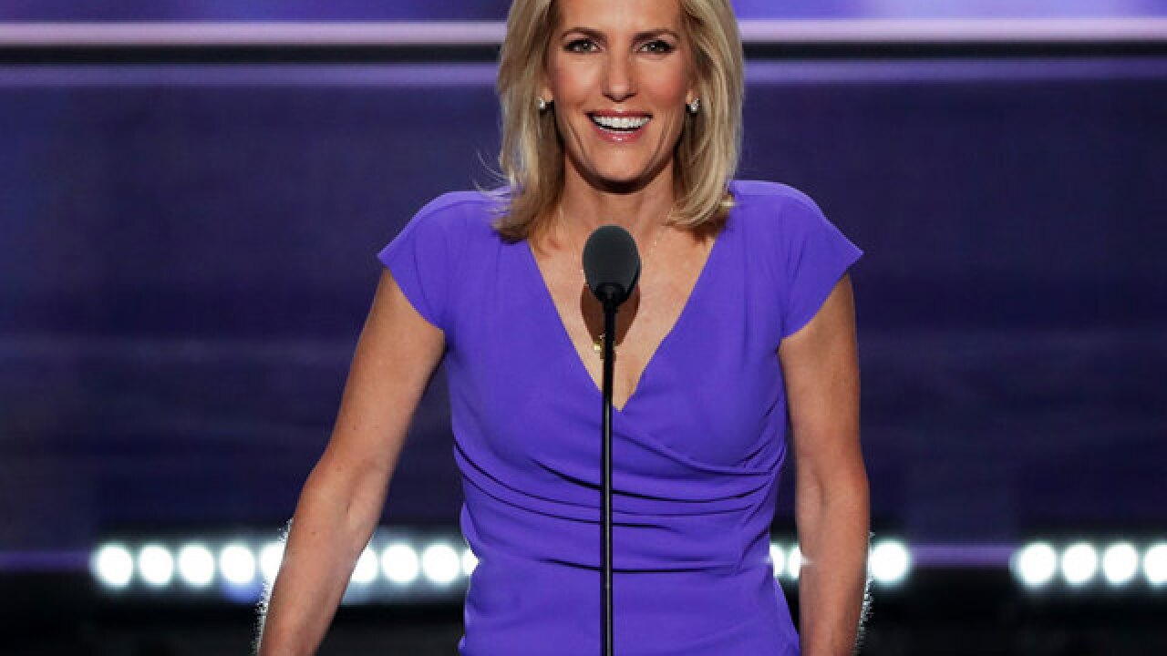 Fox News Channel's Laura Ingraham returns to work, complains about censorship