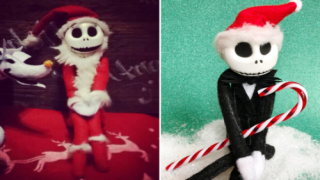 Bendable Jack Skellington Is A Cute Replacement For 'Elf On The Shelf'